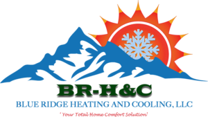 Blue Ridge Heating & Cooling Logo